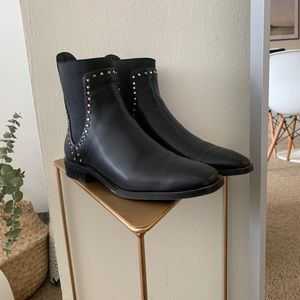 Zara faux leather boots